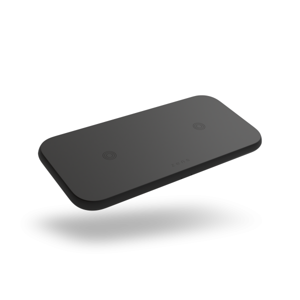 ZEDC12B - Zens Dual Wireless Charger Front Side View