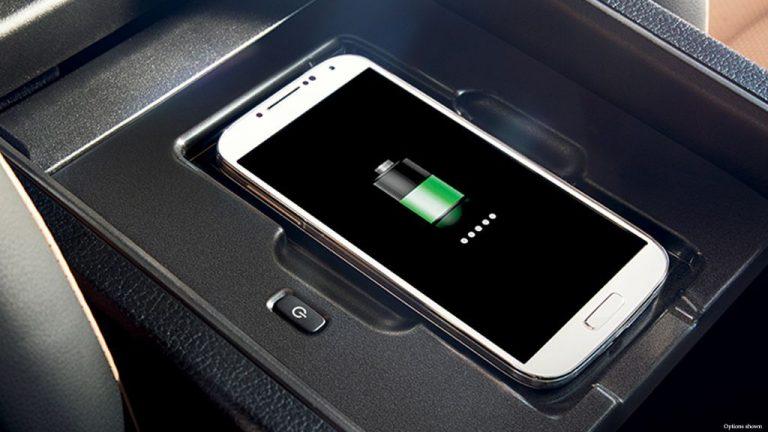 Lexus wireless charging