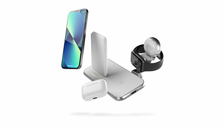 Aluminium series charger with multiple devices