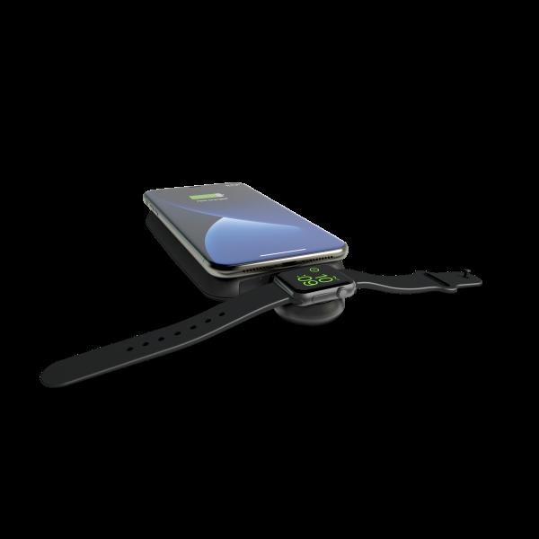 Aluminium Apple watch USB on powerbank