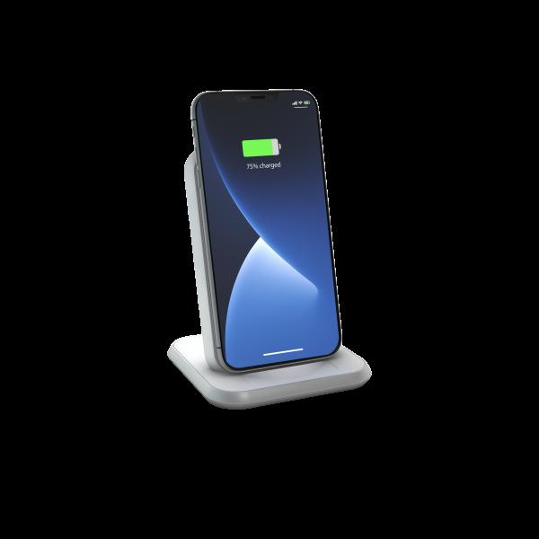 Stand Aluminium Wireless Charger - White