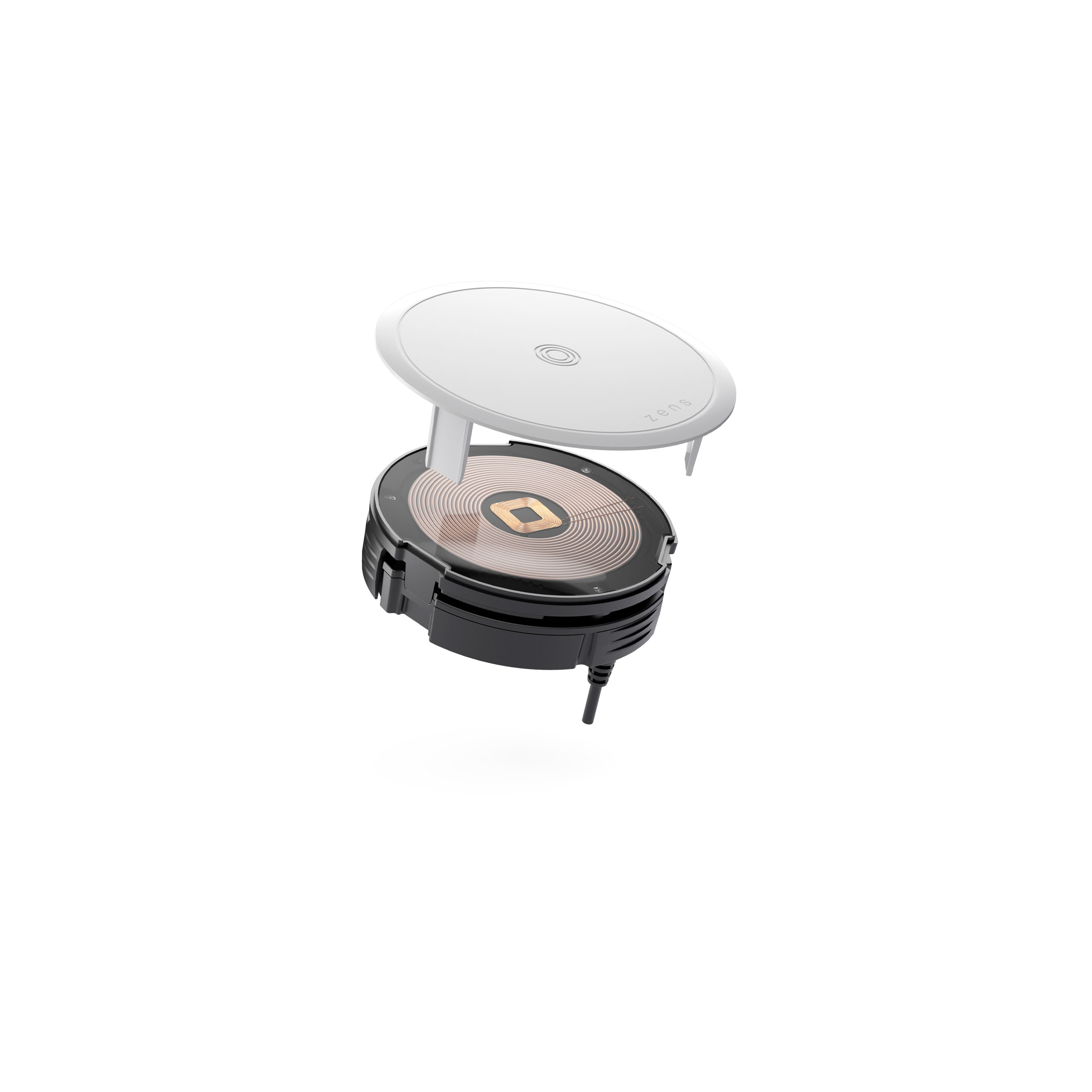 ZETC03N - Zens PuK 2 Wireless Charger Front Side View