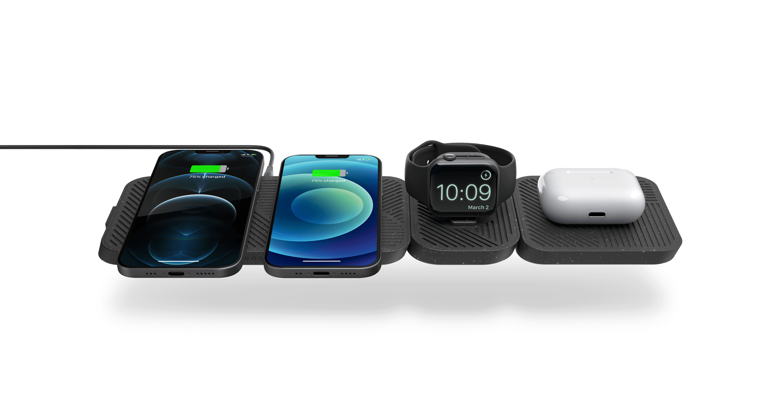 modular charger with devices