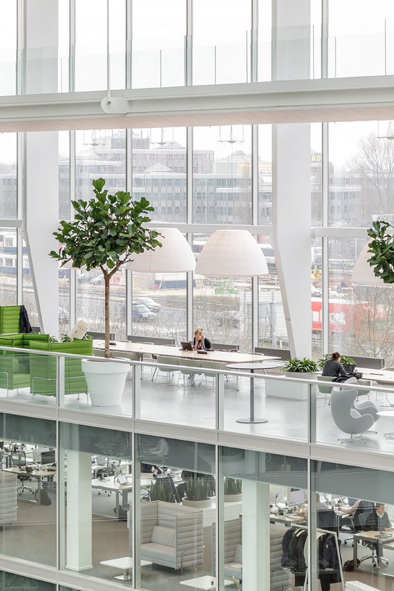 New ways of working at The Edge - Deloitte's headquarters in Amsterdam