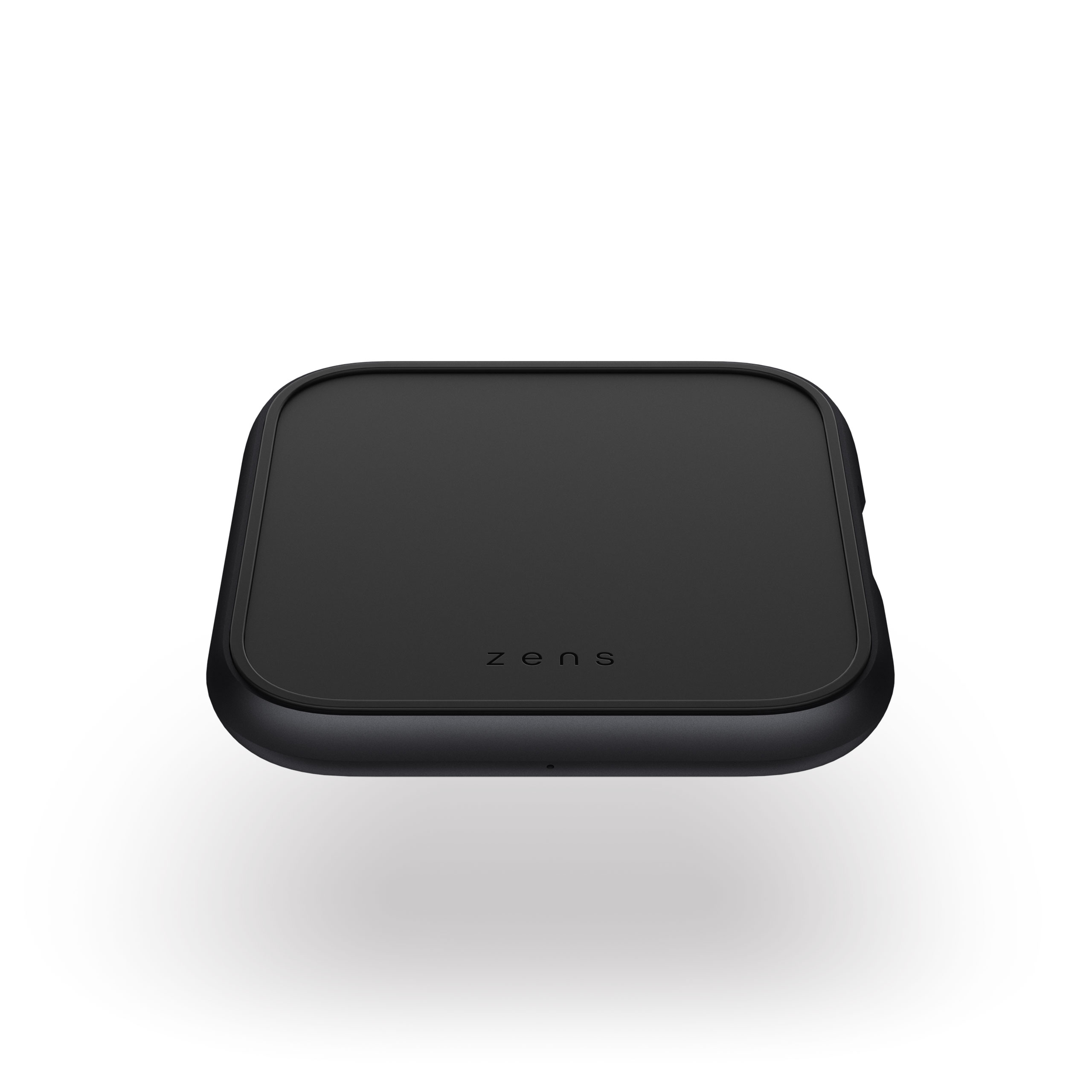 ZESC14B - Single Aluminium Wireless Charger Top Front View