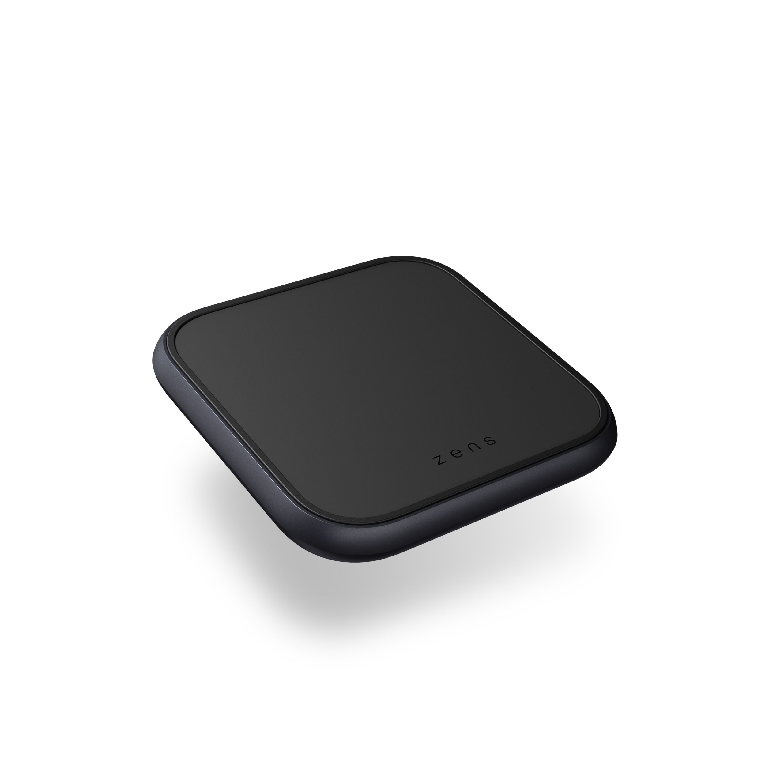 ZESC14B - Single Aluminium Wireless Charger Top Side View