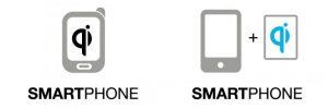 Qi smartphones or Qi add-ons