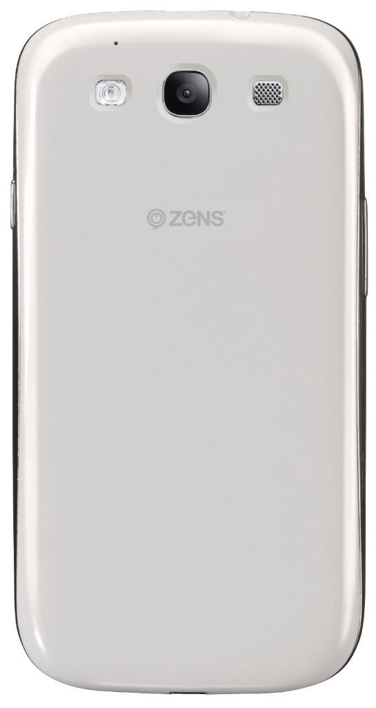 ZENS Galaxy S3 Wireless Charging Case White