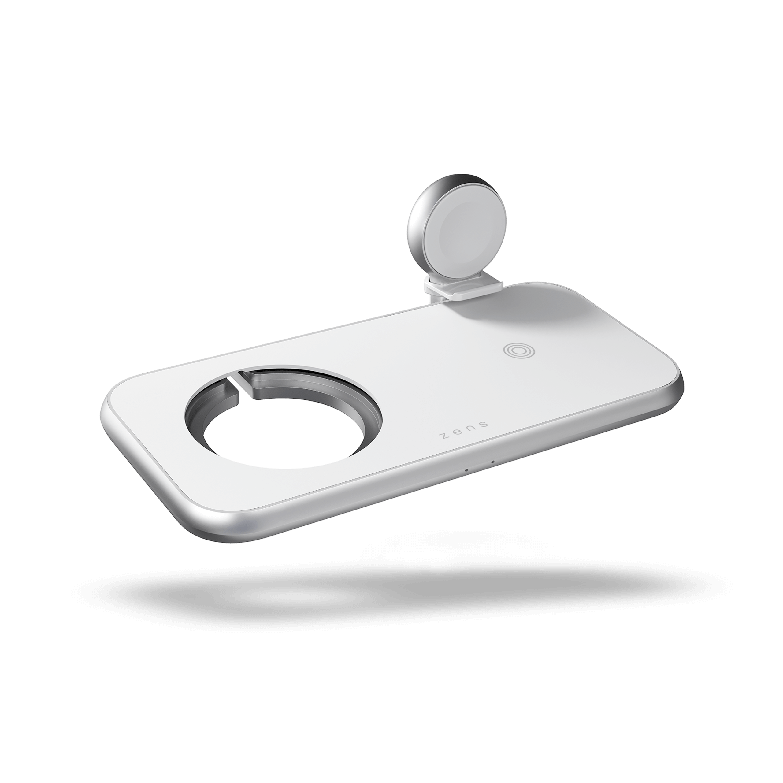 ZEDC17W - Zens 4-in-1 Wireless Charger Aluminium Designed for MagSafe