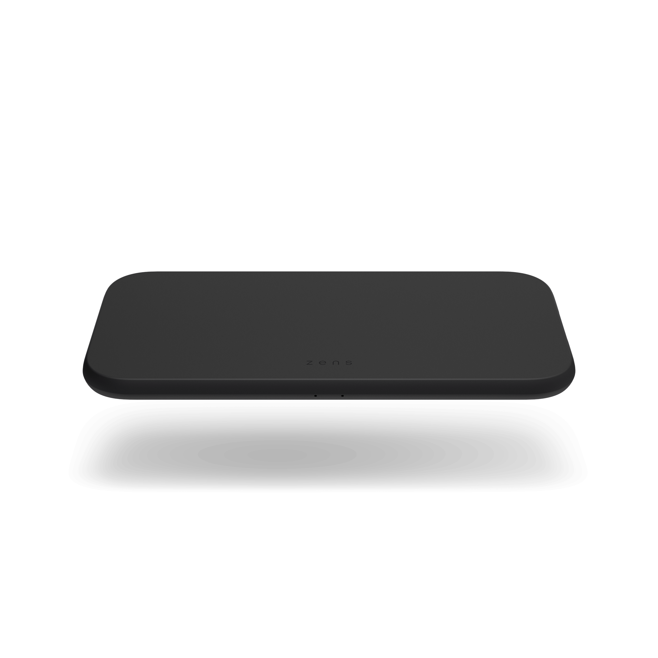 ZEDC12B - Zens Dual Wireless Charger Front Top View