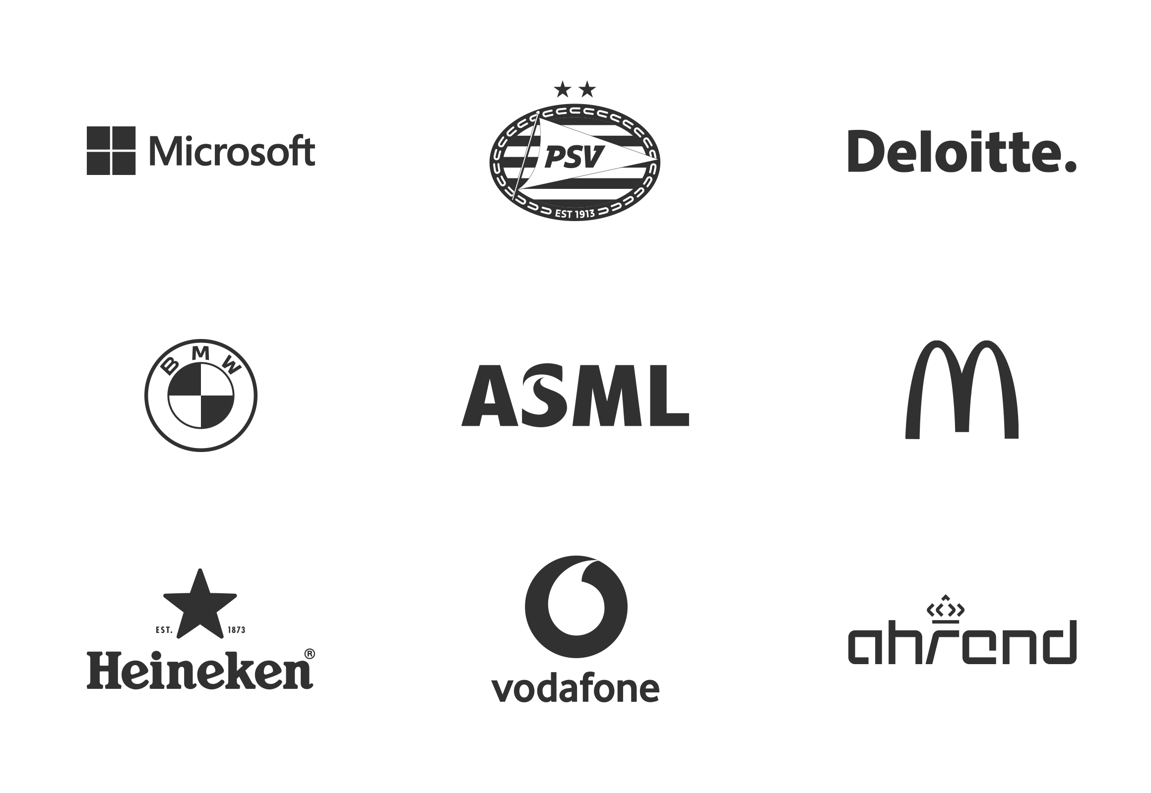 Custom Charger Client logos