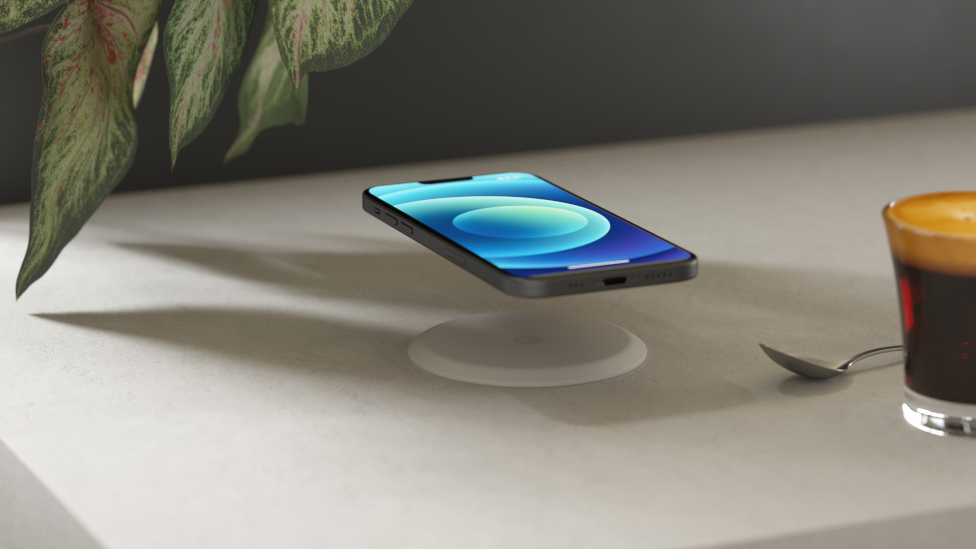 Zens Built-in Wireless Charger Lifestyle