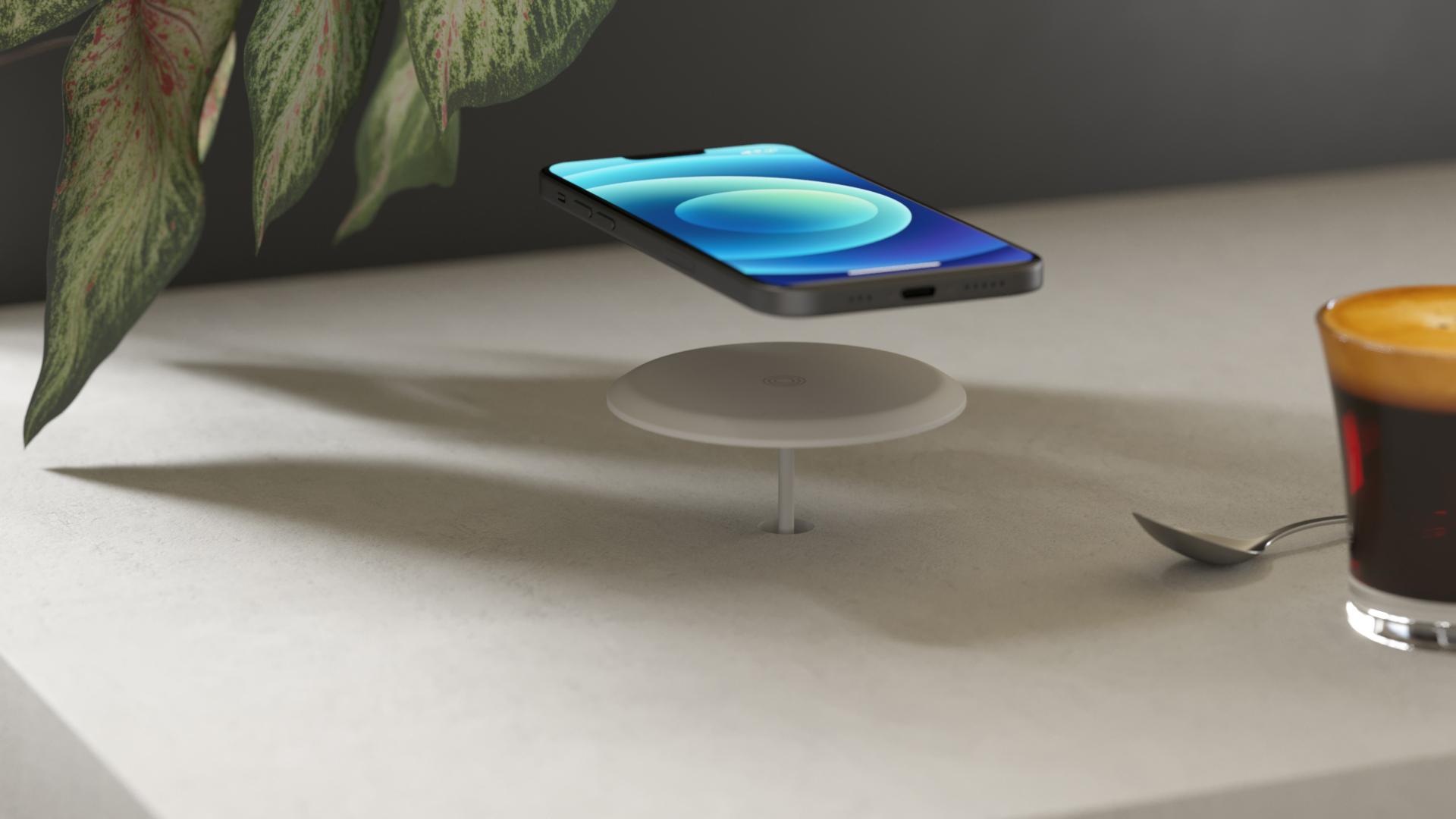 ZEBI03W - ZEBI04W Lifestyle Built-In Wireless Charger