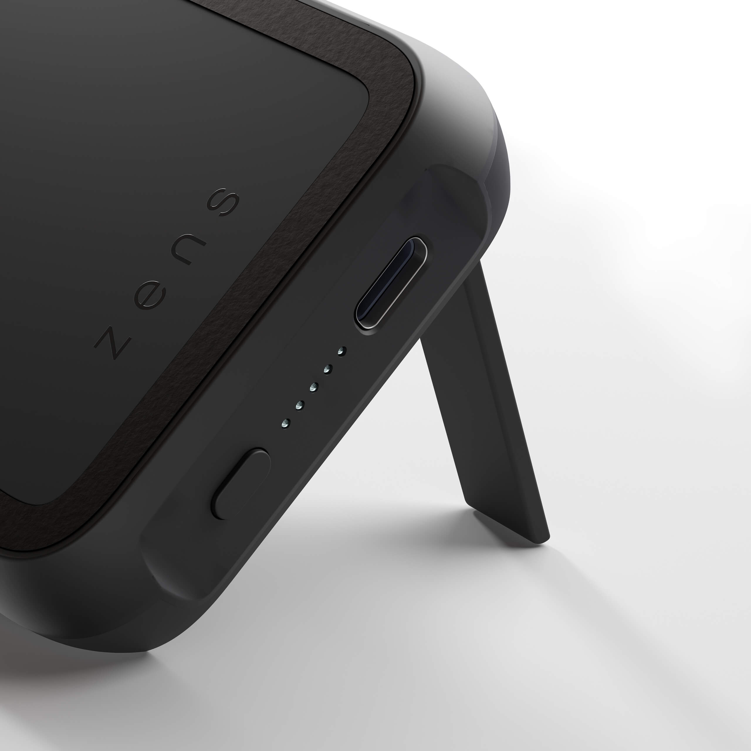 ZEPP04M - Magnetic Single Powerpack With Stand 10000 mAh Detail