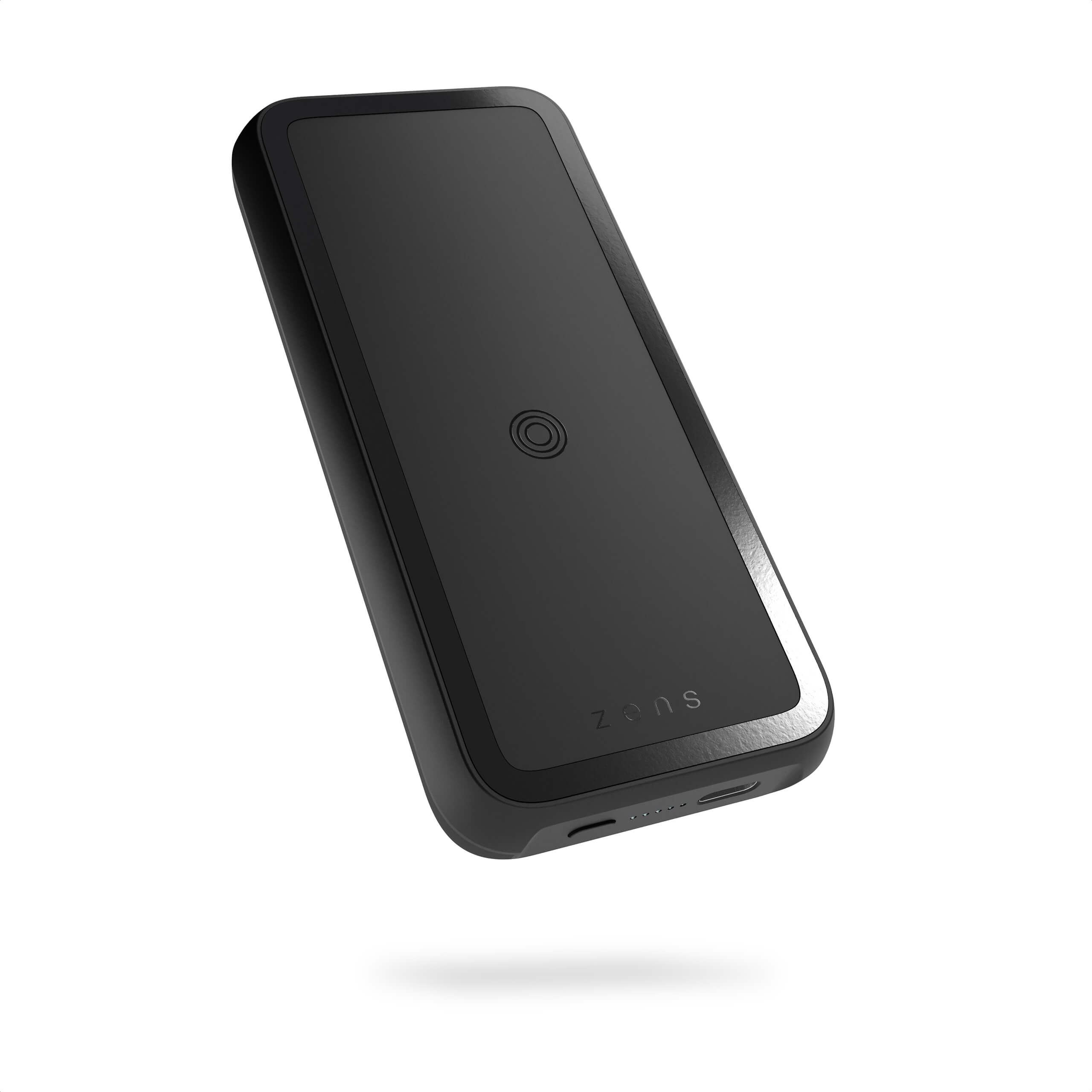 ZEPP04M - Magnetic Single Powerpack With Stand 10000 mAh Front-Side View