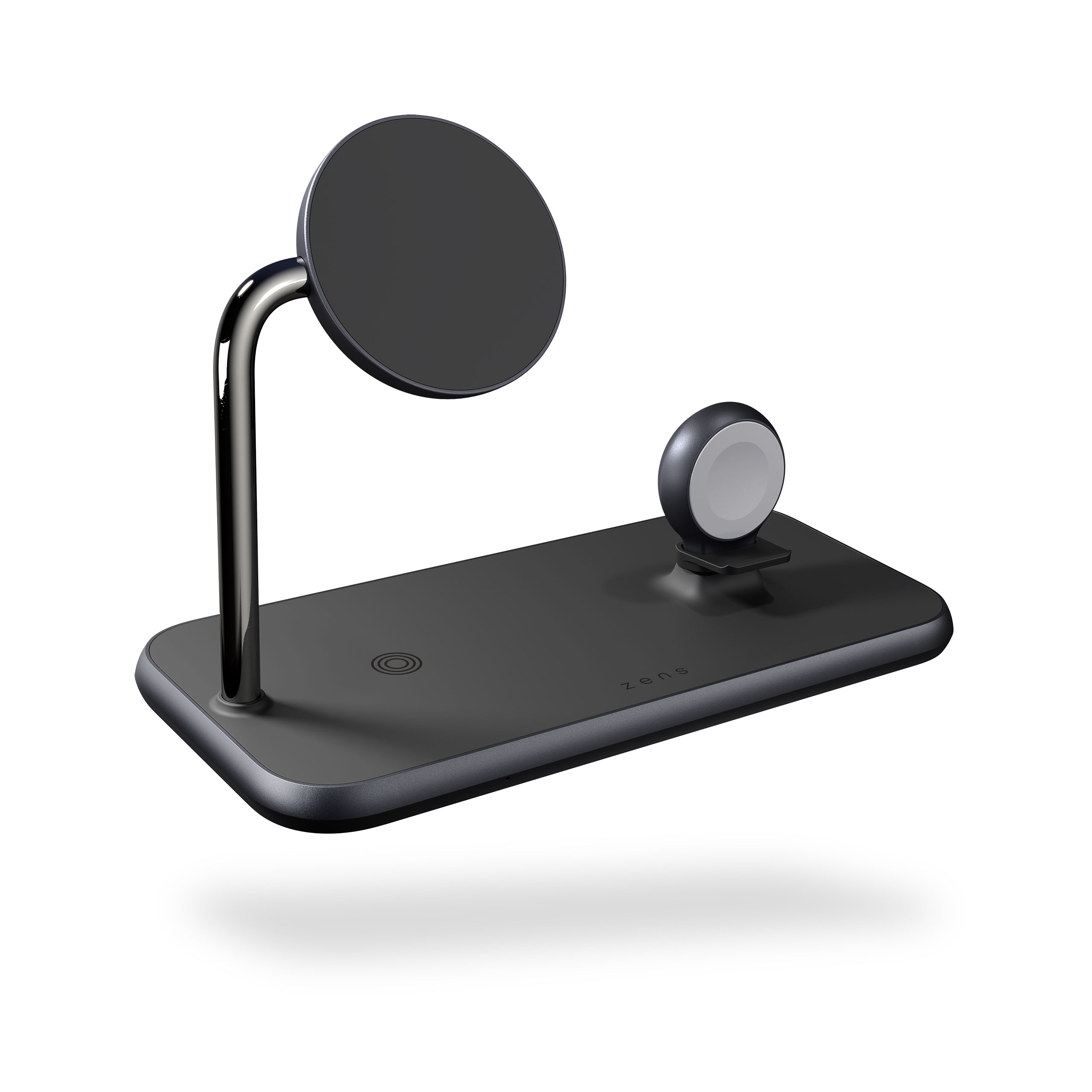 Magnetic + Watch Wireless Charger front side view