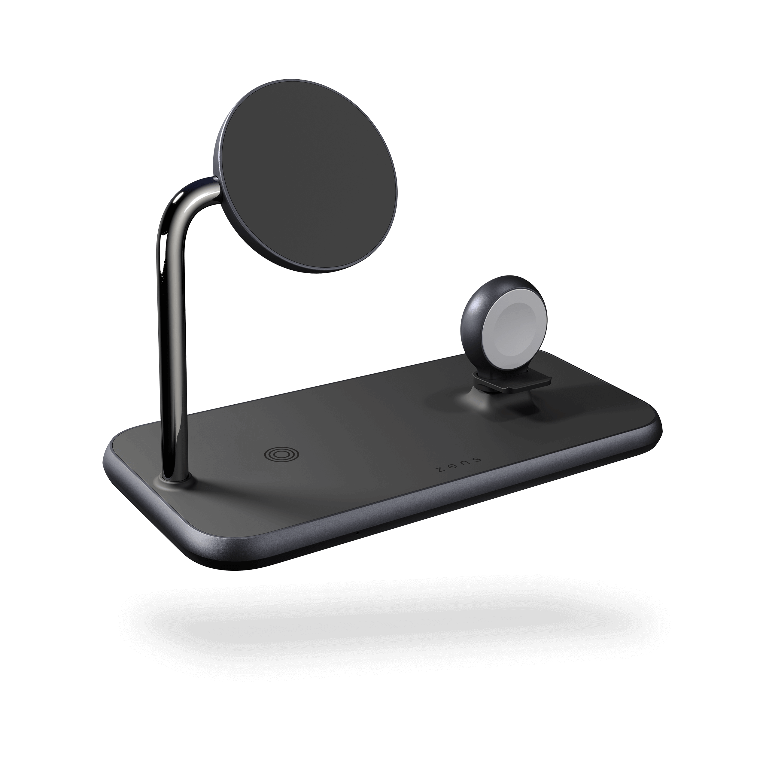 ZEDC18B - Magnetic + Watch Wireless Charger front side view