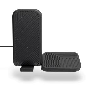 Modular dual charger stand plus pad